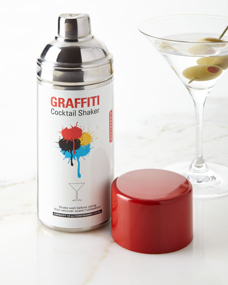 Kikkerland Spray Can Cocktail Shaker