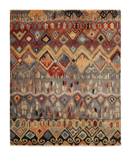 Noam Earth Hand-Knotted Rug, 6' x 9'