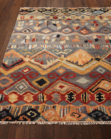 """Noam Earth Hand-Knotted Runner, 2'6"""" x 10"""""""