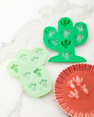 Cactus Ice Trays, Set of Two