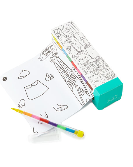 OMY ADVENTURES Pocket Coloring Book