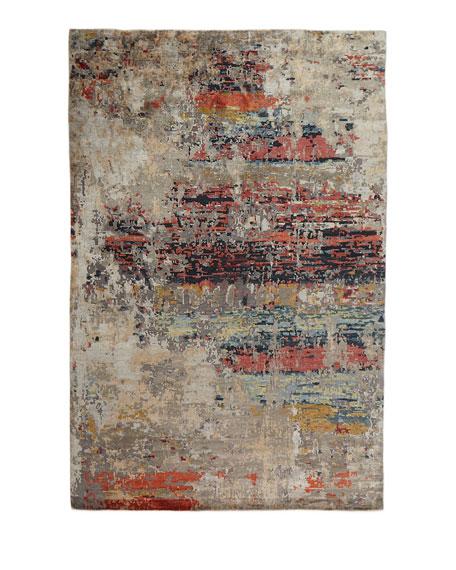 Josie Natori Titus Hand Knotted Rug, 10' x 14'