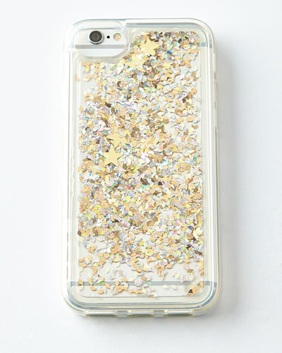 Star and Moons Glitter iPhone® 6 Case