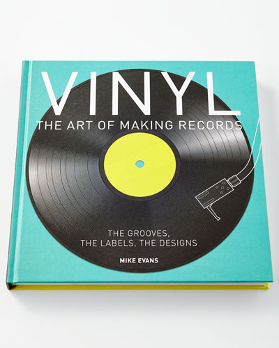 Vinyl: The Art of Making Records Hardcover Book