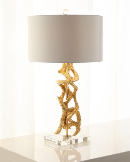Golden Vine Table Lamp