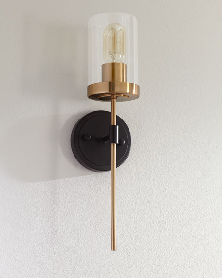 Image 1 of 2: North Haven 1-Light Wall Sconce