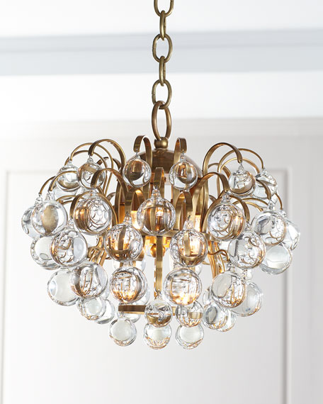 Image 2 of 2: AERIN Bellvale Small Chandelier