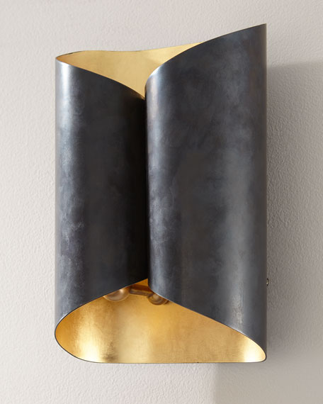 Image 1 of 2: AERIN Selfoss Sconce