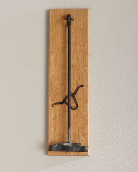 Longhorn Iron with Board
