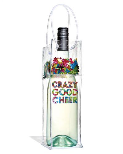 Crazy Good Cheer Wine Gift Bag