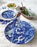 Neiman Marcus Blue Tile Salad Plates, Set of 4