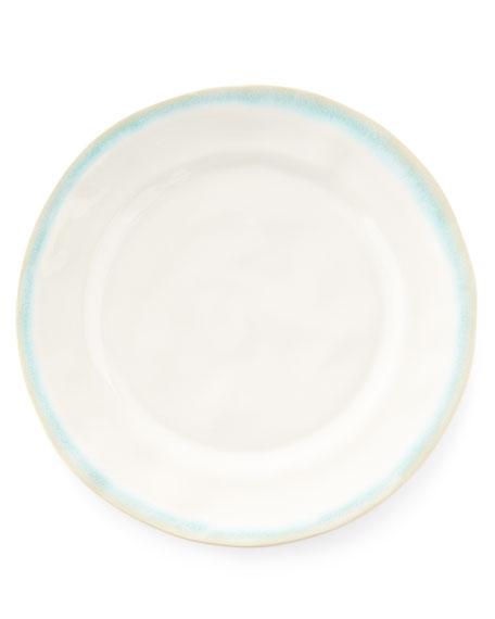 Neiman Marcus 12-Piece Leaf Dinnerware Service, Aqua
