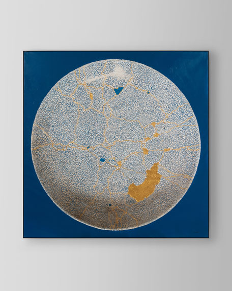 """Teng Feis Gold Light Wall Art, 54""""Sq."""