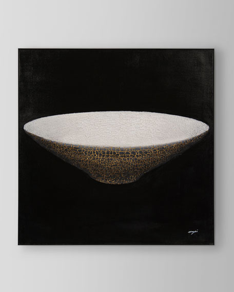"Teng Fei's ""Circle"" Oil on Canvas"