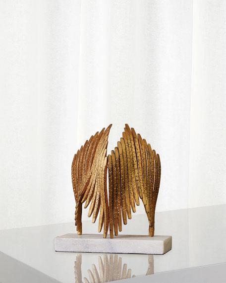 Icarus Brass Sculpture