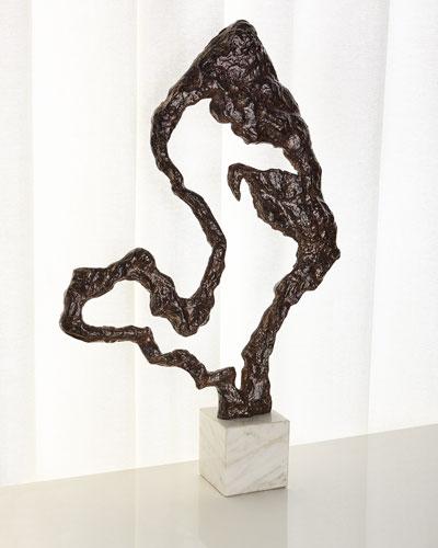 Organic Bronze Sculpture