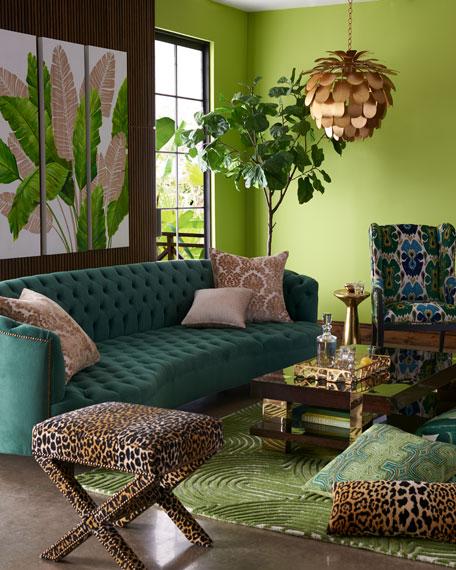 Vaughn Tufted Velvet Sofa