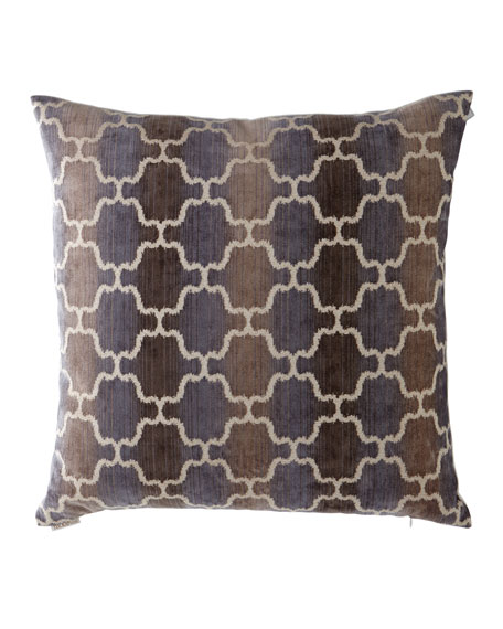 Vendura Circle Pattern Ombre Pillow