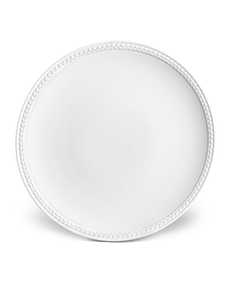 L'Objet Soie Tressee Bread and Butter Plate
