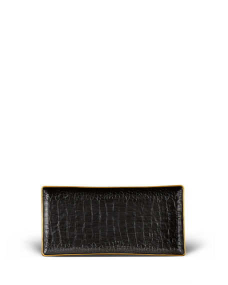 Crocodile Medium Rectangle Tray