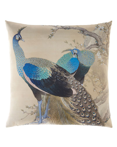 Keinen Peacock Pillow