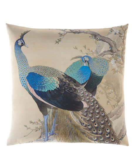 Poetic Pillow Keinen Peacock Pillow