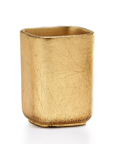 Labrazel Ava Toothbrush Holder, Gold