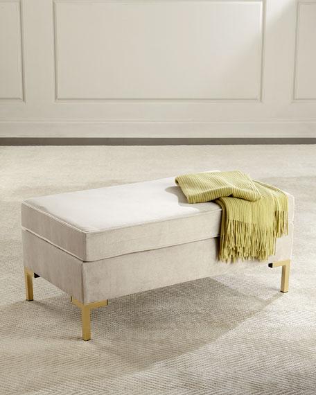 Kendra Pillow-Top Bench