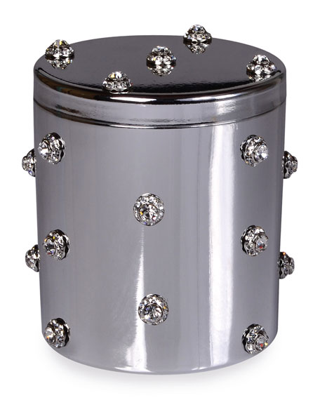 Mike & Ally Nova Jeweled Cotton Swab Jar