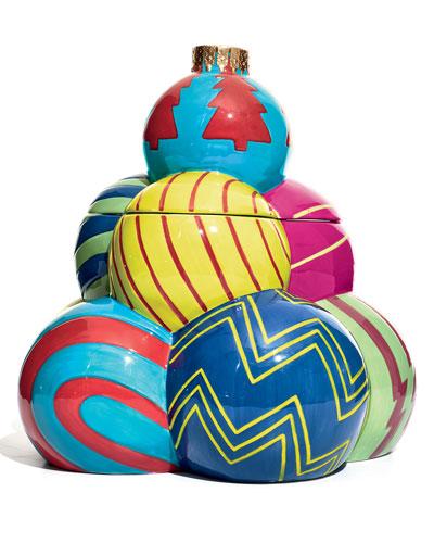Ornament Tree Cookie Jar