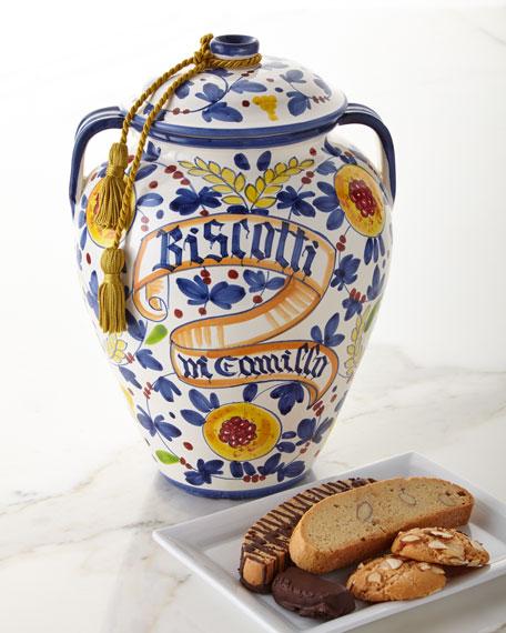 Dicamillo Baking Co Arabesco Frutta Biscotti Jar