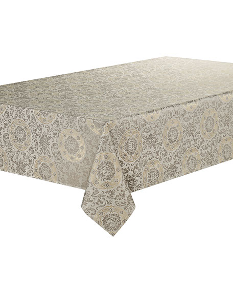 """Waterford Concord Tablecloth, 70x104"""""""