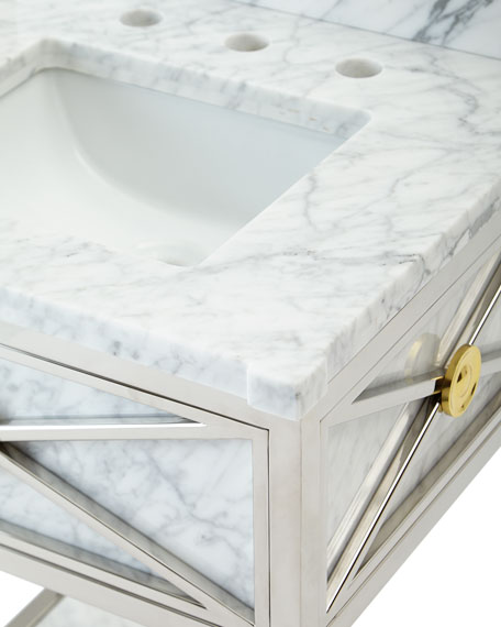 Image 2 of 3: Ambella Evangelina Petite Sink Chest