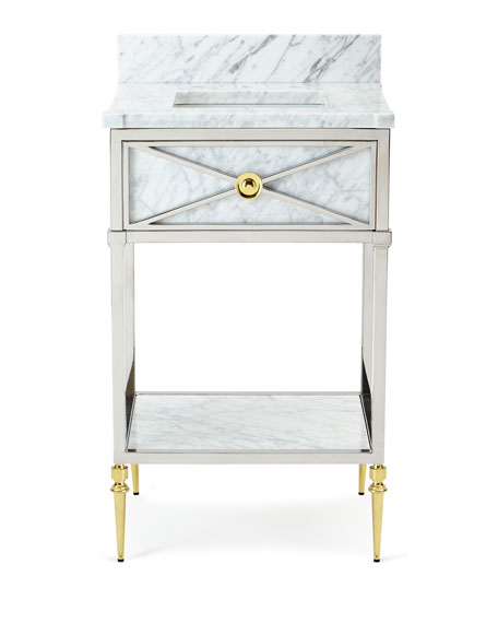 Image 3 of 3: Ambella Evangelina Petite Sink Chest