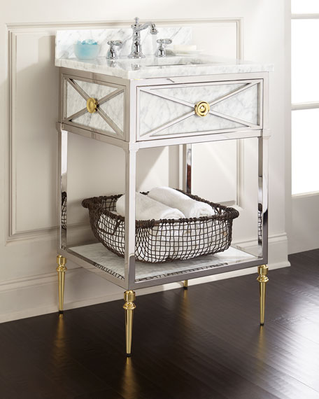 Image 1 of 3: Ambella Evangelina Petite Sink Chest