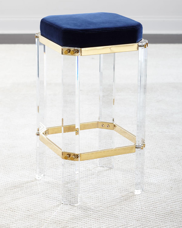 Thalia Acrylic Counter Stool Neiman Marcus