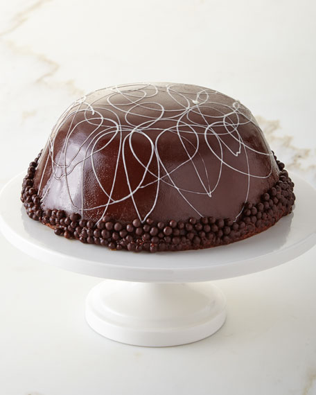 Hazelnut Mocha Bomb Cake