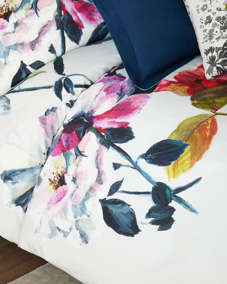Designers Guild Couture Rose King Duvet Cover