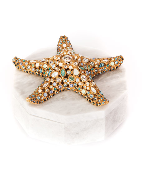 Jay Strongwater Ocean Starfish Box