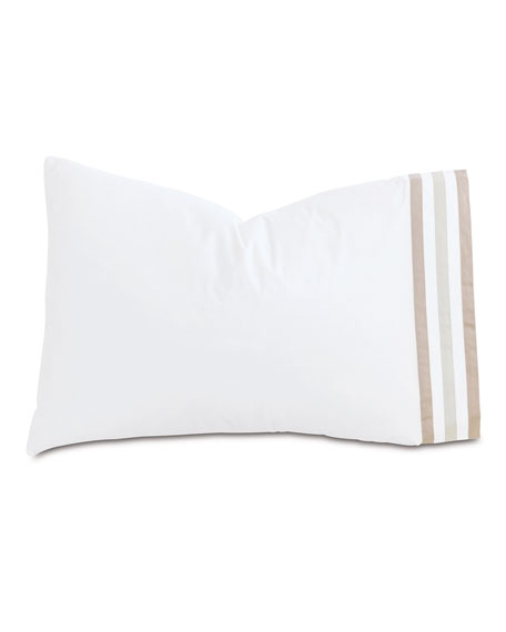 Eastern Accents Watermill Taupe Queen Pillowcase