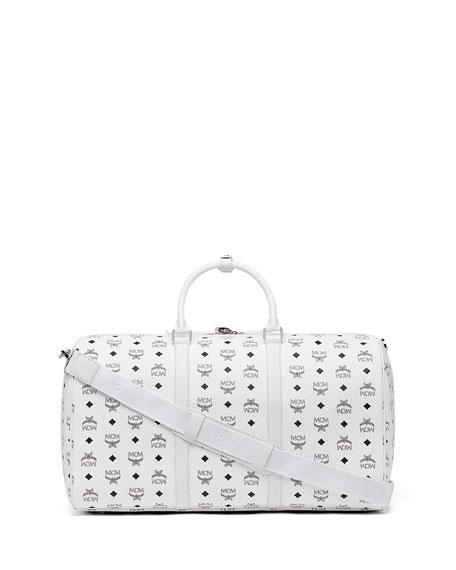 Logo-Print Weekender Bag