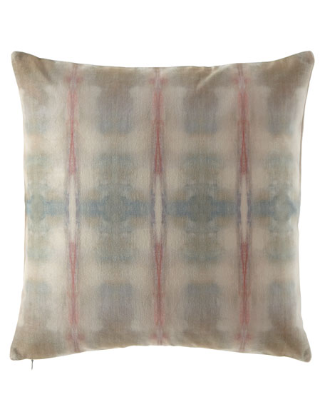 "Refuge Textile No. 1 Pillow, 20""Sq."