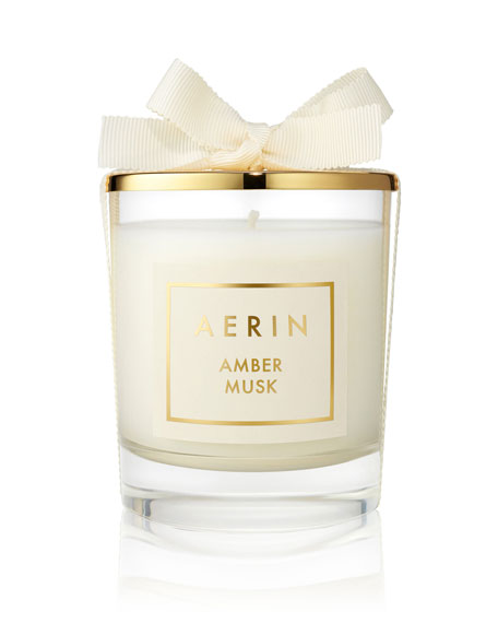 Limited Edition Amber Musk Candle, 7 oz. / 200 g