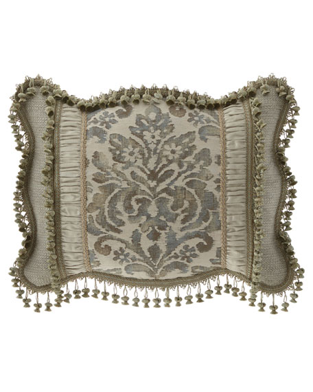 Sweet Dreams Delany Pieced Standard Sham with Scallop Edge