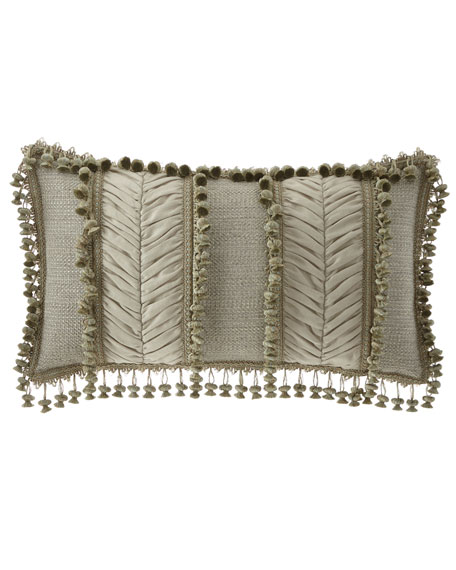 Sweet Dreams Delany Oblong Pillow with Onion Trim