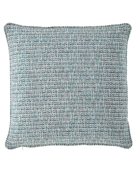 Sherry Kline Home Basketweave Pillow, 18