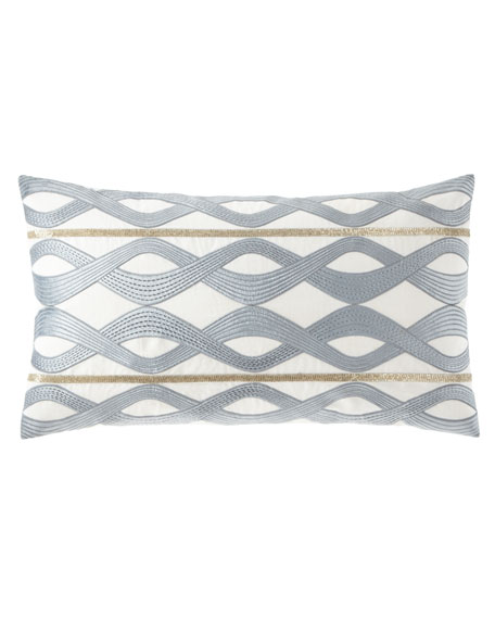 Callisto Home Linen-Blend Decorative Pillow