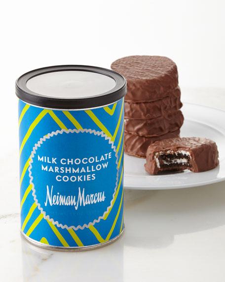 Milk Chocolate Marshmallow Cookies