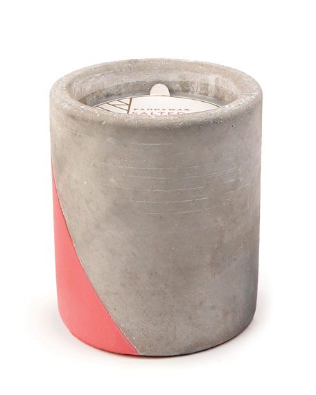 Paddywax Salted Grapfruit Large Concrete Candle, 12 oz./340g