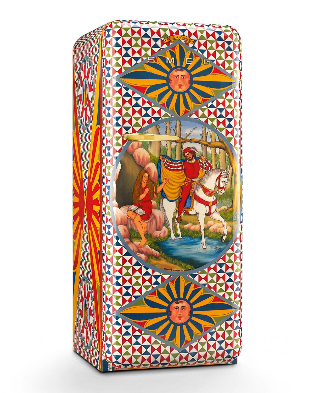Smeg Dolce Gabbana X SMEG Saint Genevieve Refrigerator